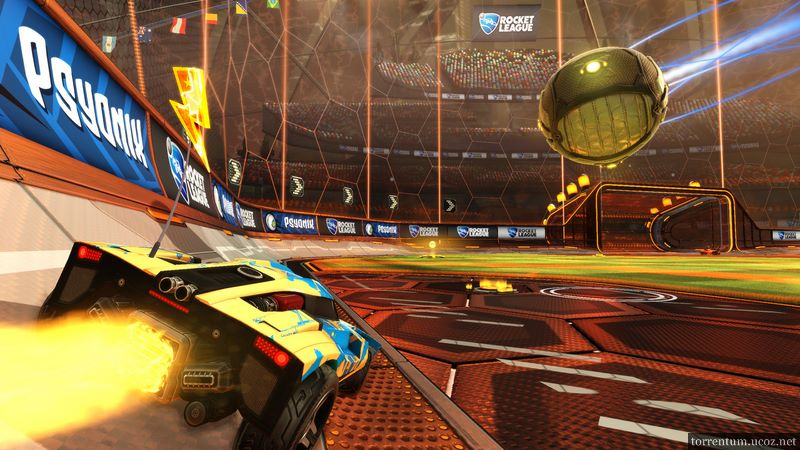 Rocket League [v 1.11 + 4 DLC] (2015) PC