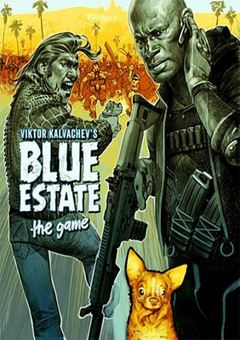 Blue Estate The Game (2015) PC - logo