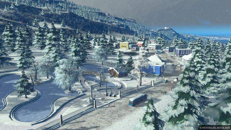 Cities: Skylines - Snowfall