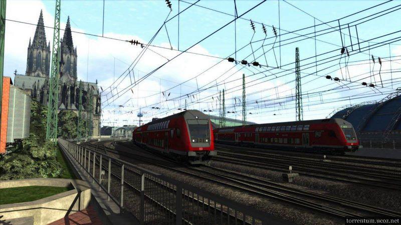 Игра train simulator 2016 скачать торрент.