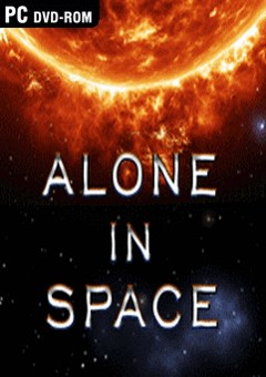 ALONE IN SPACE (2016) - logo