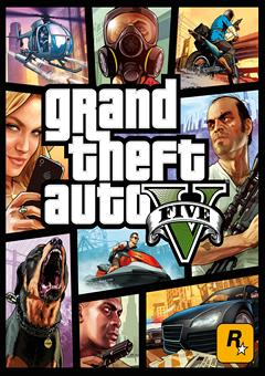 GTA 5 / Grand Theft Auto V [v 1.0.678.1] (2015) PC - logo