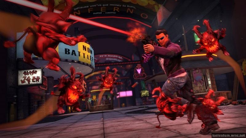 Saints Row Gat out of Hell - скачать через торрент игру