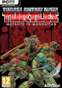 Teenage Mutant Ninja Turtles: Mutants in Manhattan (2016) - logo